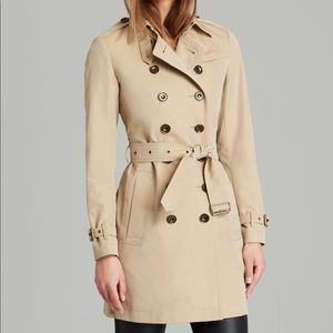 EUC- Authentic- Burberry Crombrook Trench Coat